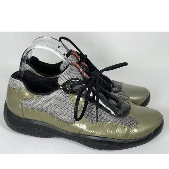 Prada Shoes   Prada Americas Cup Green